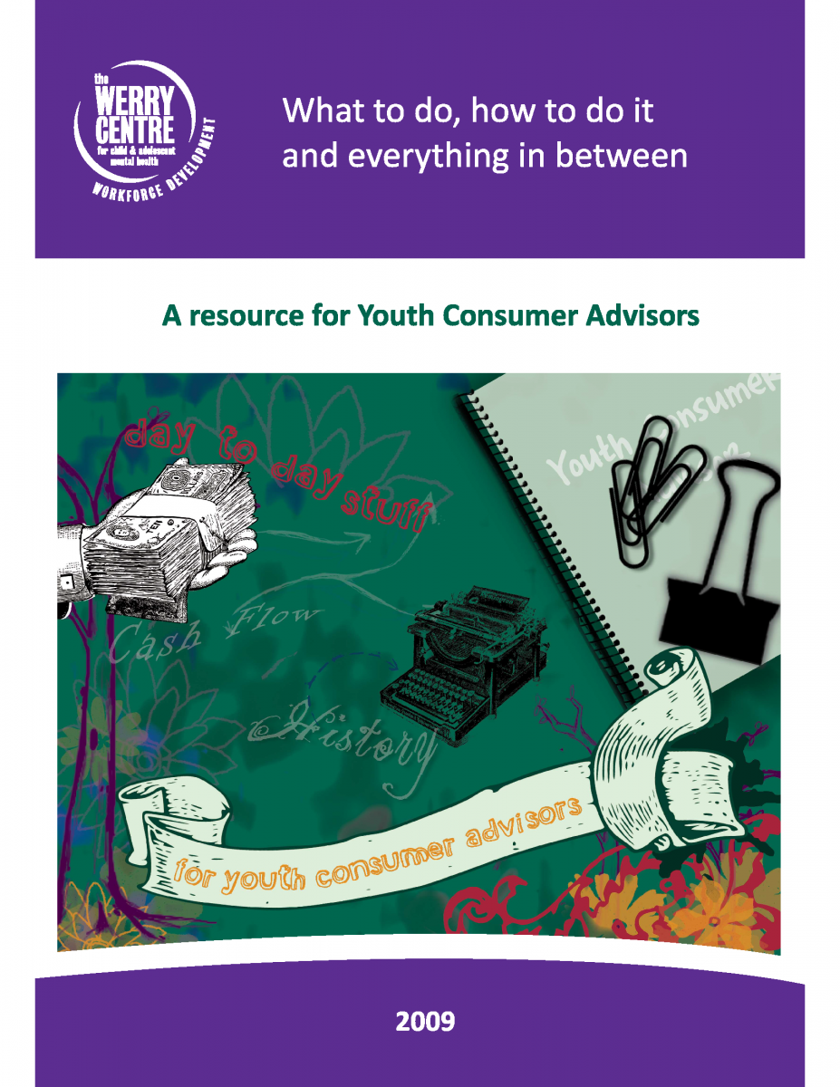 A resource on how to be a youth consumer advisor. Click for the PDF.